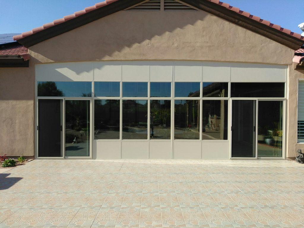 Patio Enclosure - Sun Room.